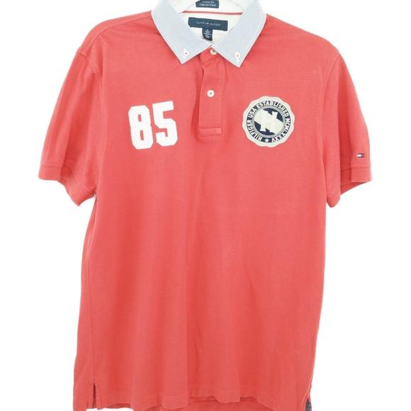 f9540f8bb Tommy Hilfiger Shirts | 85 Vintage Mens Medium Red | Poshmark